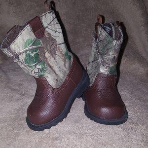 Baby Boy Camo Boots